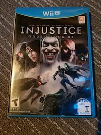 Injustice Wii u game Elkhart, 46514