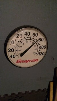 white Snap-on gauge Anchorage, 99507