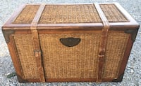 Storage box / crate / trunk / toy box / Wood / 32 x 18 x 18. Columbus