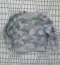 EUC Joe Fresh 18-24M Camouflage Sweatshirt