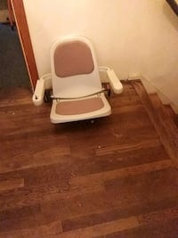 white and brown plastic chair lift & parts Middletown, 06481