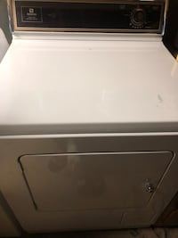 Gas dryer for sale. It's making some weird noises but dries great to be honest. Just the noise is getting to me. Pretty sure it's something easy to fix but already got new appliances. Blaine, 55434