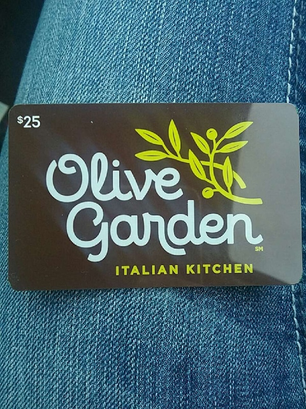 Used Olive Garden Gift Card For Sale In Wausau Letgo