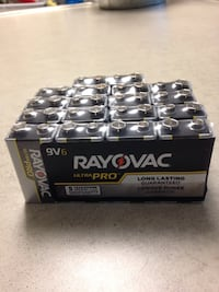 RayOVac Ultra Plus 9 volt batteries NEW in package   18 batteries Powell, 37849