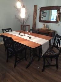 Dining table and 6 chairs LONDON