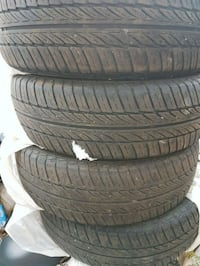 Tires 185 65 R15 M + S all season only 10,000 km  562 km