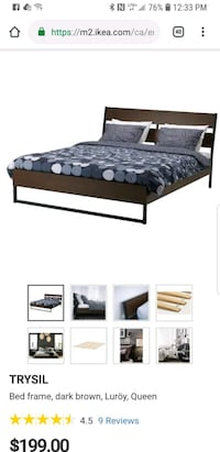 Queen size bed for sale Toronto, M5J 0A7