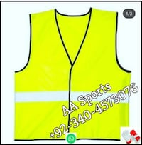 life jacket, flame retardant safety garments, safety work uniform Sialkot