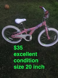 toddler's pink and white bicycle Troy, 12182