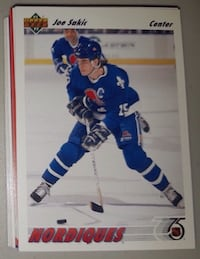60  Variety Nordiques Cards... $5 Firm For 60 Cards. Calgary