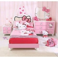 Hello Kitty Bed Set Carmichael, 95608