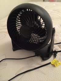 black and gray desk fan Mississauga