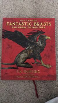 Fantastic Beasts coffee table book. Great condition! Arlington, 22203