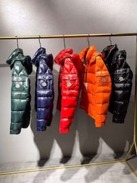 MONCLER,FENDI WINTER JACKETS comes with a receipts and original tags