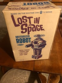 Minty lost in space robot 1966 all original