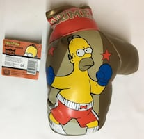 The Simpsons Homer Boxing Glove Collection 2004 *BRAND NEW* RARE