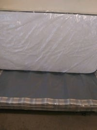 Twin mattress with box spring must go today  Virginia Beach, 23462