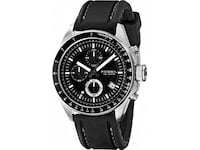 Fossil Men's CH2573 Decker Stainless Steel Chronograph Watch With Black Silicon Band Windsor, N8N 1A0