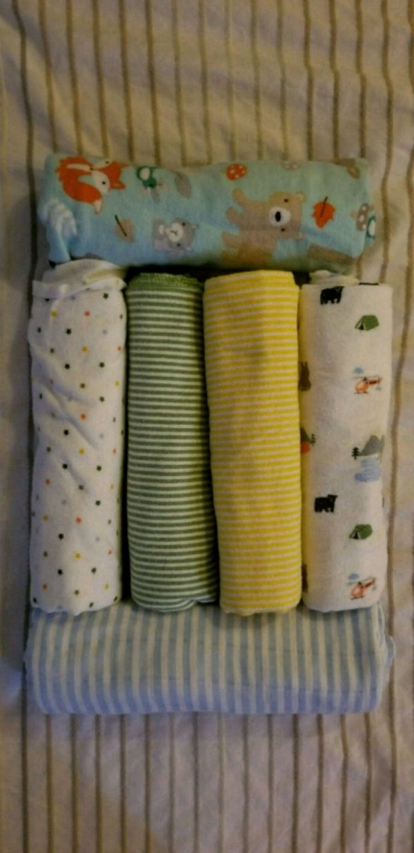 Carter's  4-Pack Receiving Blanket, plus 2 add't