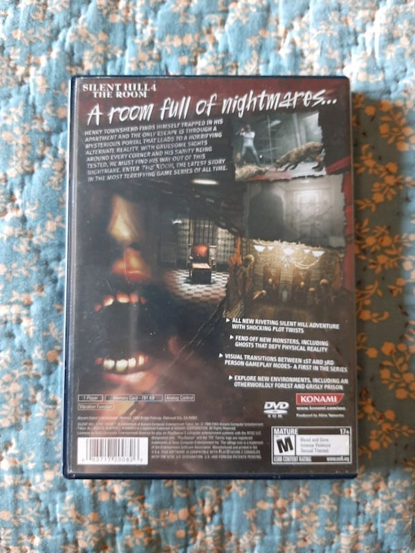 Sold Silent Hill 4 Ps2 In West Warwick Letgo