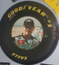 Full Size Tire Framed Kevin Harvick pic