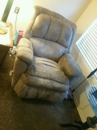 brown leather recliner sofa chair 399 mi