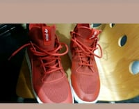 pair of red Adidas shoes Brampton, L6P 2A1