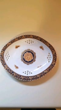 Decorative Plate Baccus T. Limoges - Oval Plate Toronto, M4J 4W4