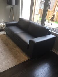 2 piece faux leather sofa set (2 sofas) moving sale!! Oakville