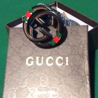 black Gucci leather belt with box Forest Heights, 20745