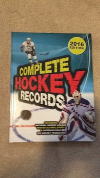 2016 Edition Complete Hockey Records  Richmond Hill, L4S 1Y7