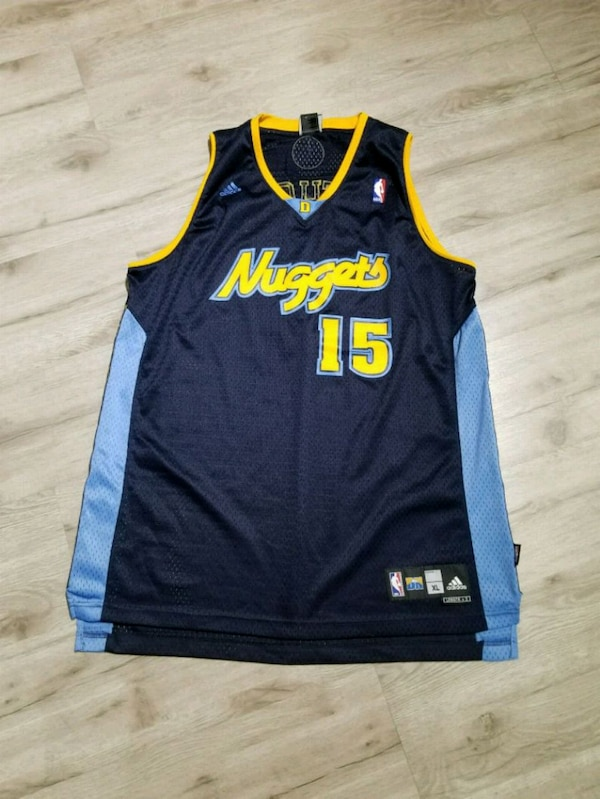 separation shoes bb532 8cfc4 Denver Nuggets Adidas Authentic Melo Jersey