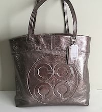 COACH BRONZE METALLIC LEATHER Niagara Falls, L2E