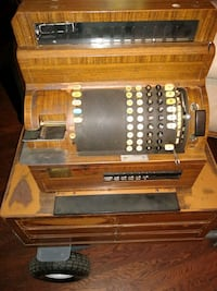 Antique 6 drawer cash register Free local delivery