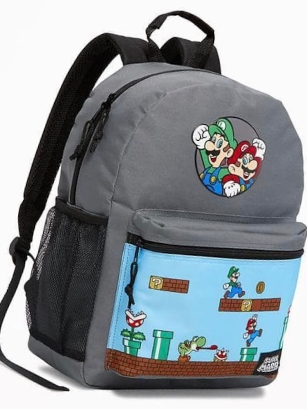 Super Mario Backpack  99074943-6cab-4131-9abb-1580c96510aa