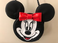 Minnie Mouse Black Nylon Purse with Red Bow by Mickey Unlimited Washington, 20018