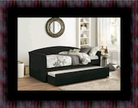 Daybed black with mattress Greenbelt
