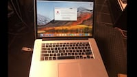Mid 2015 MacBook Pro 15'' 2.8ghz i7 core, 512 ssd 16gb ram Silver Spring