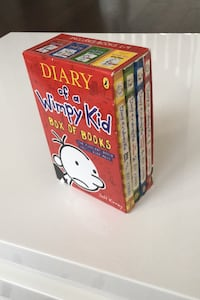 Diary of a Wimpy Kid (box of books - 4)