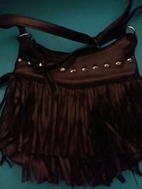 Small fringe handbag Red Lion, 17356