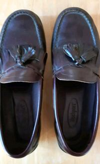 Rockport 10M Dark Brown Loafers with Tassells 59-0 Newmarket, L3Y 3J3