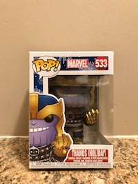 (Christmas) Thanos (Holiday) - Marvel Funko Pop!