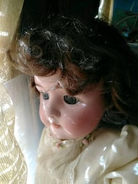 Antuige porcine doll from the 1920s hand made Springfield, 22151
