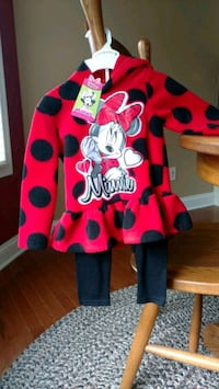 Minnie mouse winter outfit Rising Sun-Lebanon, 19934