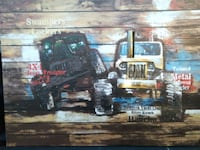 Jeep Picture painted on a Canvass Woodbridge, 22192