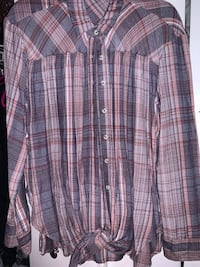 UO Flannel Tie-knot (M/L)