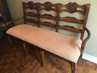 Upholstered 3 seat bench  Aurora, L4G 3X1