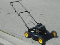 "LAST CALL REDUCED NOW A DEAL $120.00 ALL MULCHER GAS 21"" YARD PRO LAWNMOWER 4.5HP ENGINE! Mississauga"