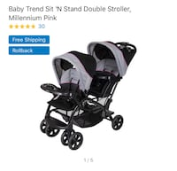 Double stroller. EUC  Charles Town, 25414