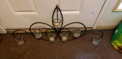 Decorate wall/candle holder